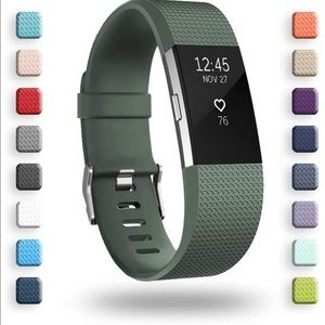 FITBIT CHARGE 2 GREEN REPLACEMENT BAND